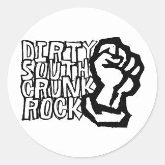 "Lil Jon ""Dirty South Fist""  Round Sticker"