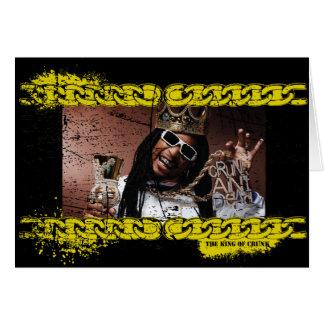 """Lil Jon """"King of Crunk"""" Greeting Card"""