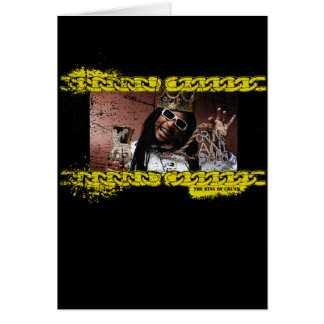 "Lil Jon ""King of Crunk"" Greeting Card"