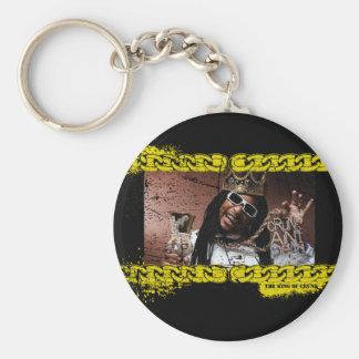 """Lil Jon """"King of Crunk"""" Basic Round Button Key Ring"""