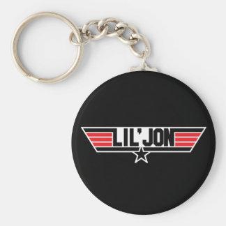 """Lil Jon """"Top Gun"""" Basic Round Button Key Ring"""