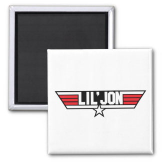 "Lil Jon ""Top Gun"" Square Magnet"