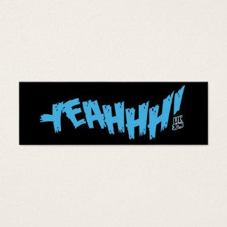 "Lil Jon ""Yeahhh!"" Blue Mini Business Card"