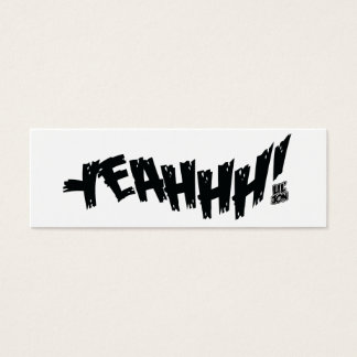 "Lil Jon ""Yeeeah!"" Black Mini Business Card"
