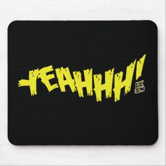 """Lil Jon """"Yeeeah!"""" Yellow Mouse Pad"""