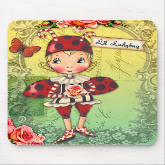 Lil Lady Bug Mousepad
