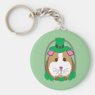 Lil Leprechaun Basic Round Button Key Ring