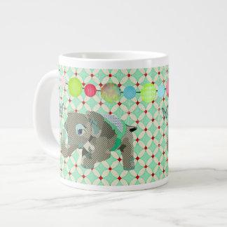Lil Lucky Elephant Mug Extra Large Mug
