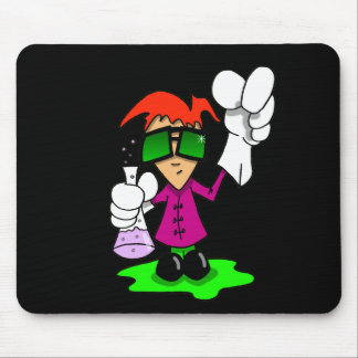 Lil Mad Scientist Mouse Pad