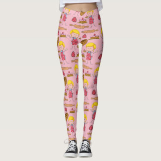 Lil Miss Baker ( Pale Pink ) Leggings