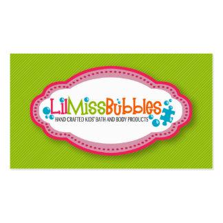 Lil Miss Bubbles Caron s Business Cards 10 13