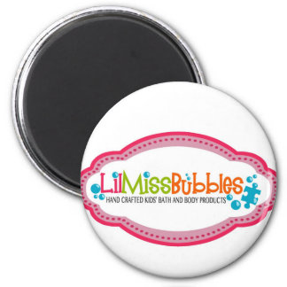 Lil Miss Bubbles Magnet