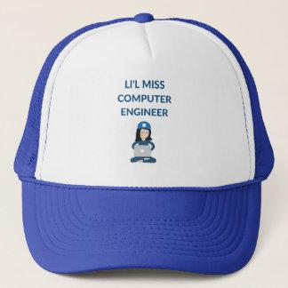 Li'l Miss Computer Engineer Trucker Hat