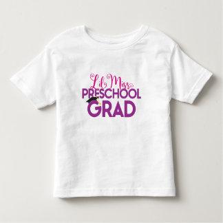 Lil Miss Pre School Graduate - Graduation T Shirt