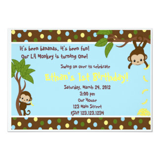 Lil Monkey Card