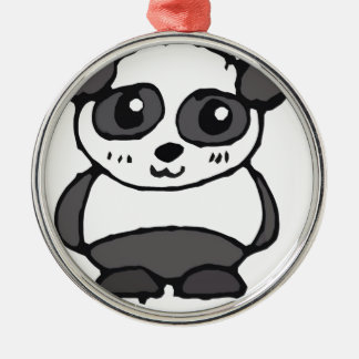 Lil' Panda Christmas Ornament