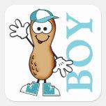 Lil Peanut Boy Sticker