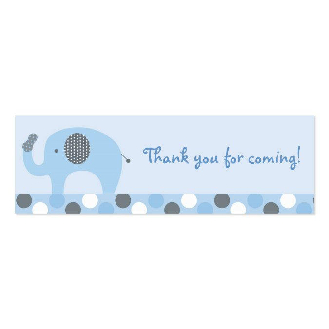Peanut elephant goodie bag tags gift tags business card template lil peanut elephant goodie bag tags gift tags business card template pronofoot35fo Images