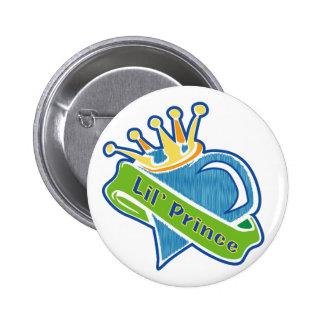 Lil Prince 6 Cm Round Badge