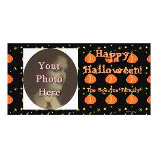 Lil Pumpkin's Halloween Photo Ready Customised Photo Card