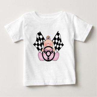 Lil Race Winner Baby Girl Baby T-Shirt