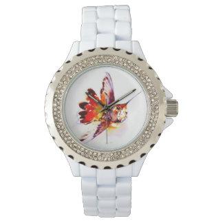 """""""Lil' Red"""" Hummingbird Print Watch"""