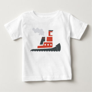 Lil Red Tugboat Baby Tee