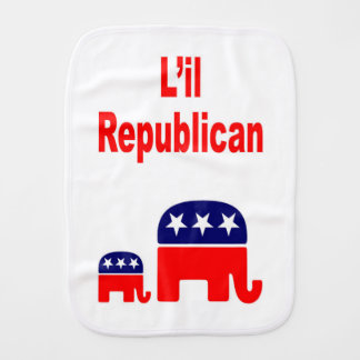 LIL REPUBLICAN BURP CLOTH