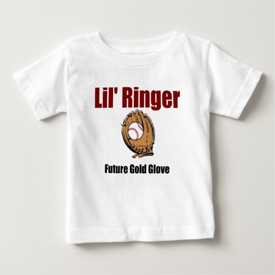 Lil' Ringer  FUTURE GOLD GLOVE Baby T-Shirt