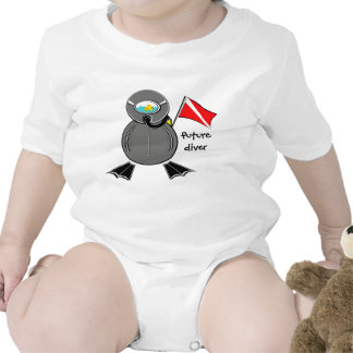 Lil Scuba Dude Future Diver T-shirt