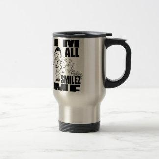 LiL SiCC iM ALL SMiLEZ MF Stainless Steel Travel Mug