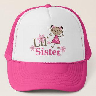 Lil Sister Ethnic Stick Figure Girl Cap