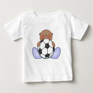 Lil Soccer Baby Boy- Ethnic Baby T-Shirt