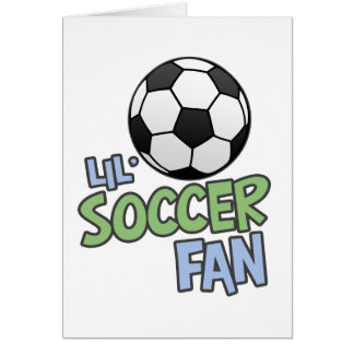 Lil Soccer Fan Cards