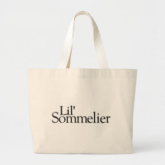 Lil Sommelier Canvas Bags