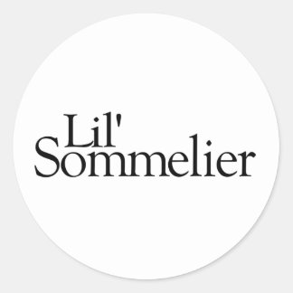 Lil Sommelier Stickers