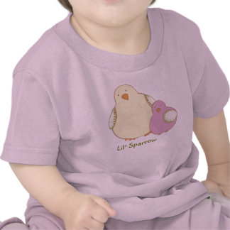 "Lil' Sparrow Toddlers ""T"" Tshirts"
