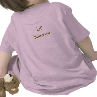 """Lil' Sparrow Toddlers """"T"""" Tshirts"""