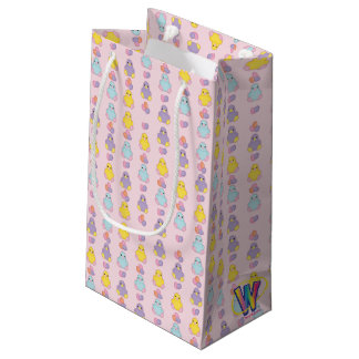 Lil Spring Chick Pattern Small Gift Bag