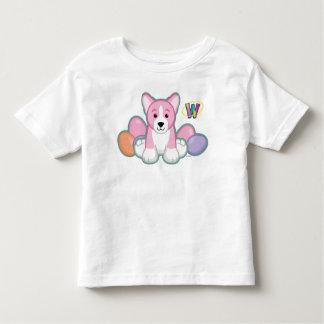 Lil Spring Corgi Pattern Toddler T-Shirt