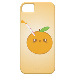Lil' Squirt Cute Baby Orange iPhone Case Case For The iPhone 5