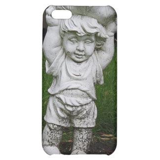 Lil Statue Boy Garden Photo iPhone 5C Cover