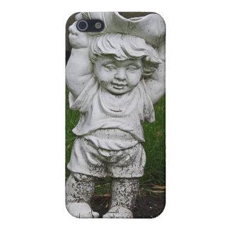 Lil Statue Boy Garden Photo iPhone 5 Case