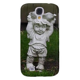 Lil Statue Garden Boy Photo Galaxy S4 Cover