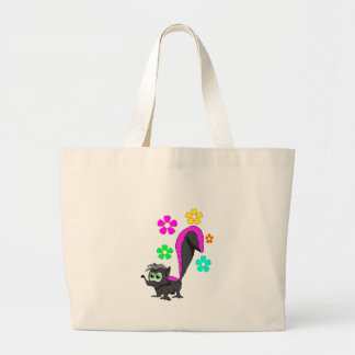 Lil Stinker Large Tote Bag