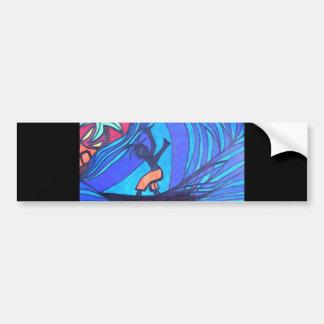 Lil' Surfer Dude Bumper Sticker