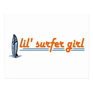 Lil Surfer Girl Post Cards