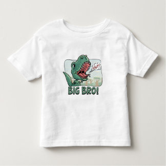 Lil' T Rex Big Bro Older Brother Gear Toddler T-Shirt