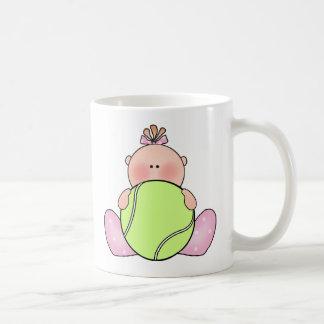 Lil Tennis Baby Girl Mug
