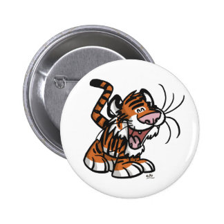 Lil Tiger button badge
